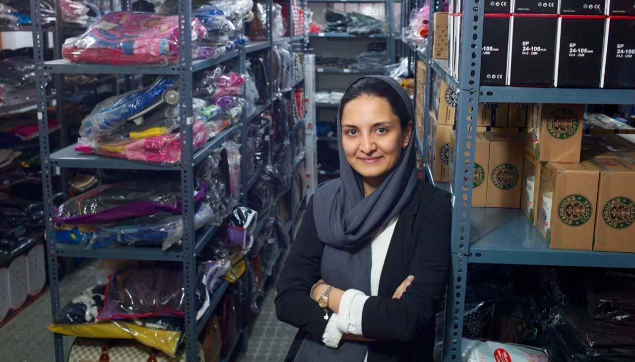 نازنین دانشور از زنان کارآفرین ایران