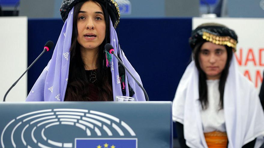 سخنرانی نادیا مراد در سازمان ملل
